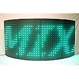 LED Dj Curved Facade Dj Booth (4 panels) (Color: Black, Tamaño: 42
