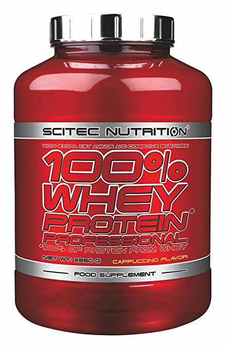 Scitec 100% Whey Protein Professional, 2350g, Geschmack:Strawberry White Chocolate