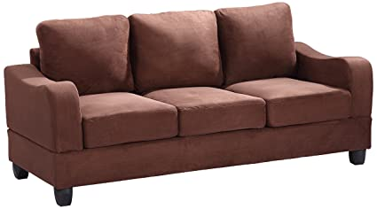 Glory Furniture G622-S Living Room Sofa, Chocolate
