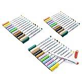 SKKSTATIONERY 36-Pcs Dry Erase Markers, Whiteboard Markers, White Board Markers (Color: Dry Erase Markers 36Pcs, Tamaño: Pouch)
