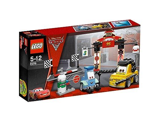 LEGO Cars - 8206 - Jeu de Construction - Tokyo Pit Stop