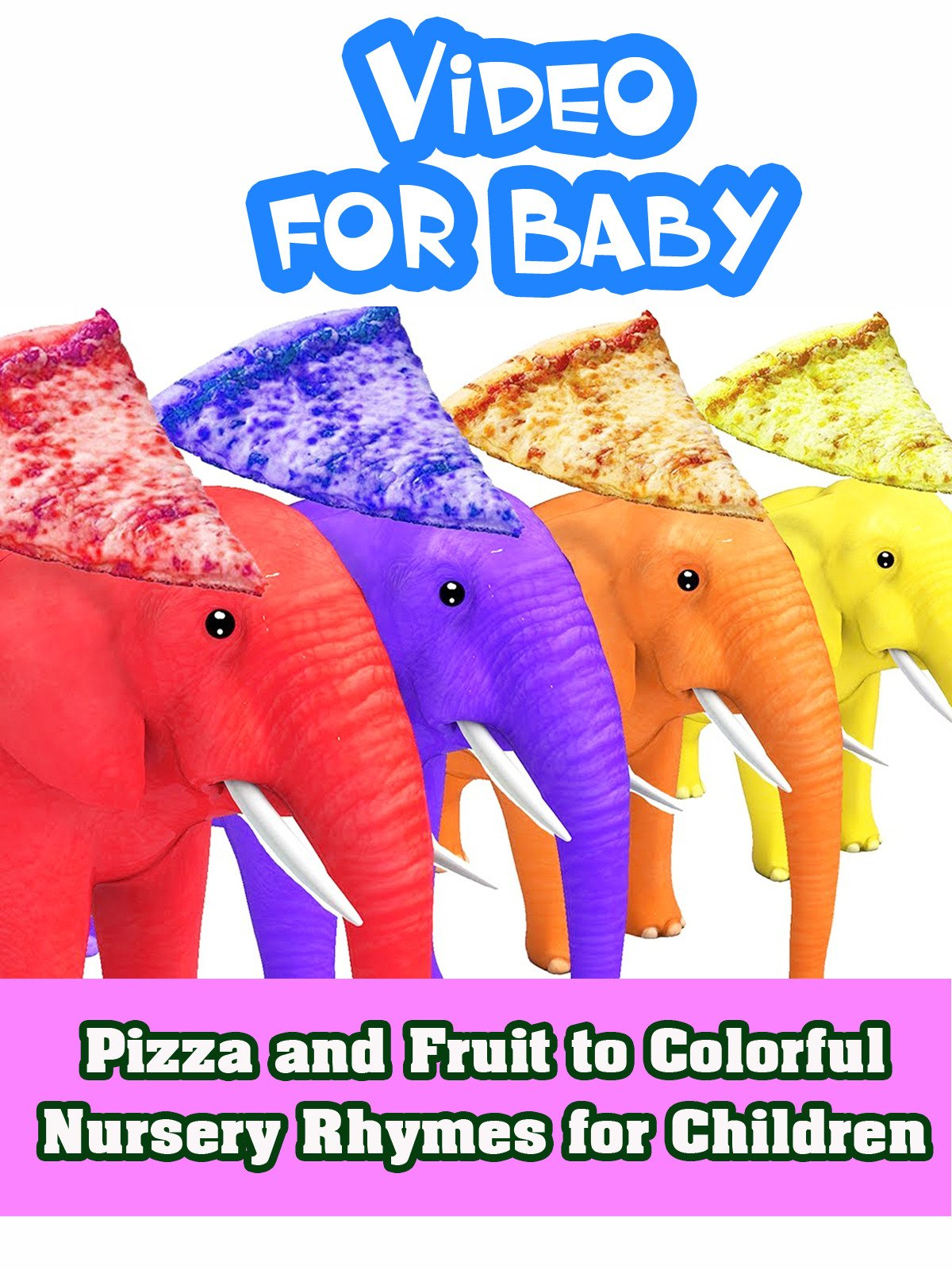 Pizza and Fruit to Colorful Nursery Rhymes for Children on Amazon Prime Instant Video UK