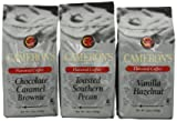 Cameron's Coffee Flavored Ground Coffee 3-Flavor Variety Pack