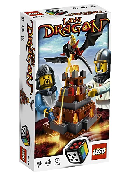 LEGO - 3838 - Jeu de Société - LEGO Games - Lava Dragon