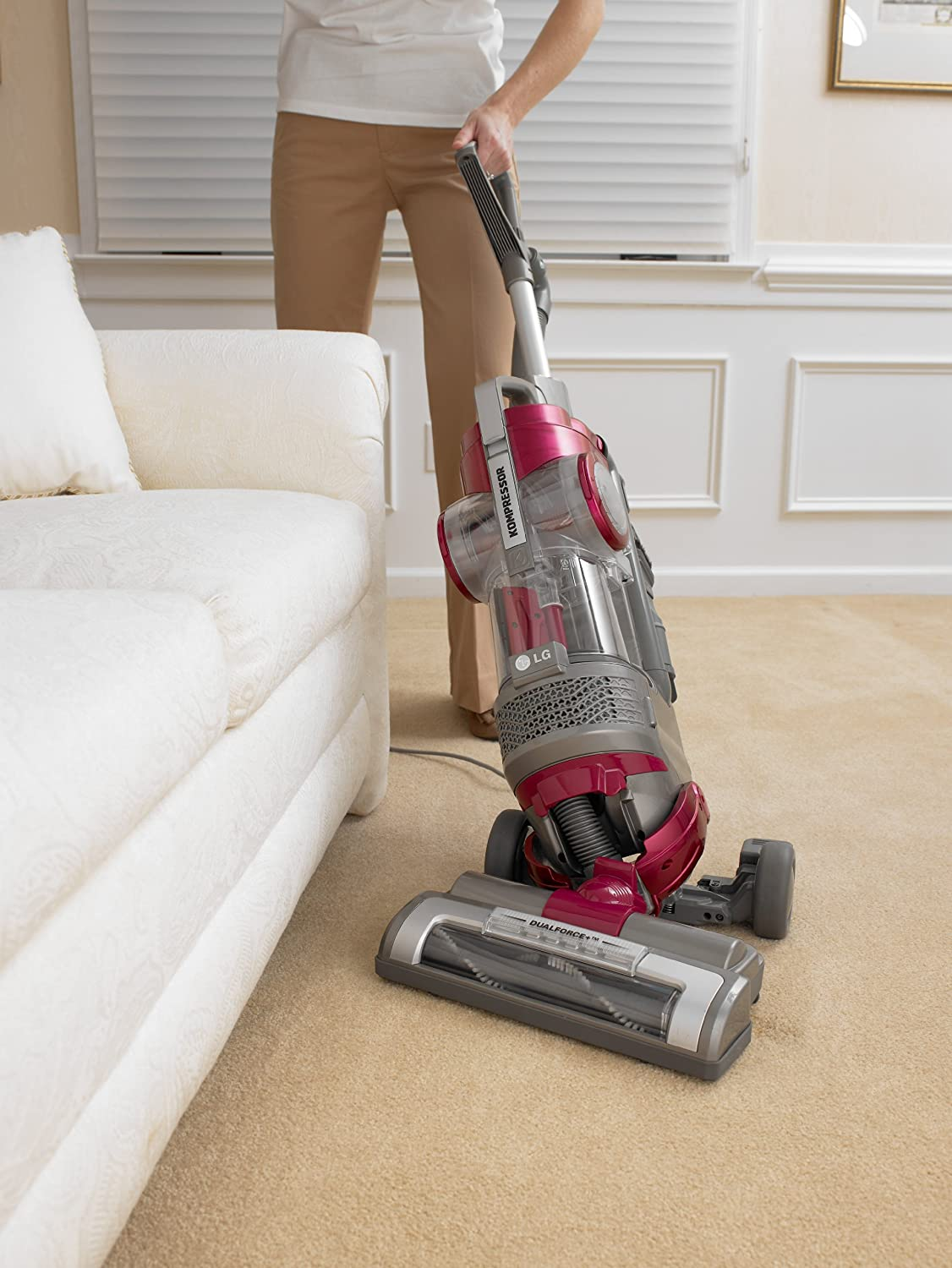 LG LuV350P Kompressor Drive Pet Care Vacuum