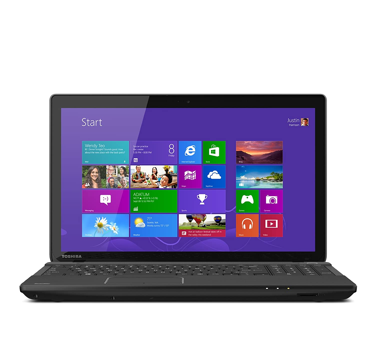 Toshiba Satellite C55Dt-A5148 15.6-Inch Touchscreen Laptop