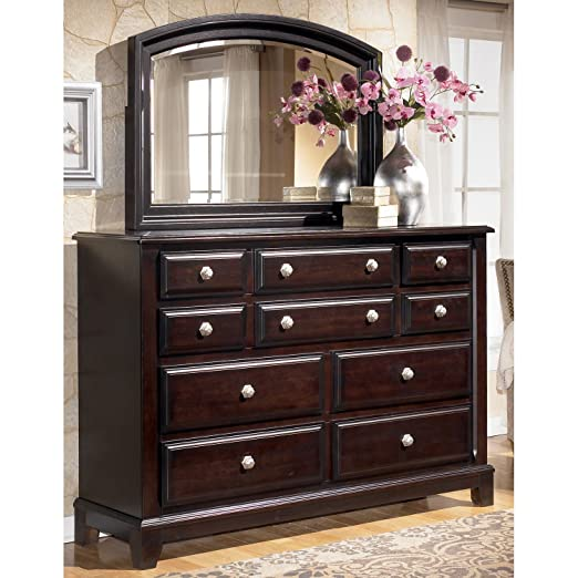Contemporary Dark Brown Bedroom Dresser