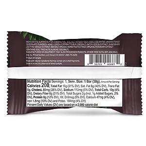Primal Kitchen Chocolate Coconut Protein Bar, Keto Certified, 8G of Protein (Tamaño: 12 Bars)