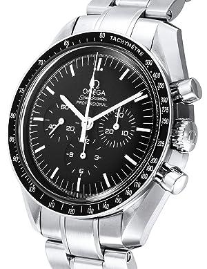OMEGA 腕時計 スピードマスター ブラック文字盤 手巻き クロノグラフ 311.30.42.30.01.005 メンズ 【並行輸入品】