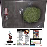 Heroclix Marvel 15th Anniversary What If? Complete Op Kit The Captain #100 LE Figure &