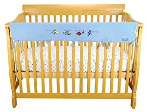 CribWrap Crib Wrap 3PC Rail Cover Bundle By Trend Lab
