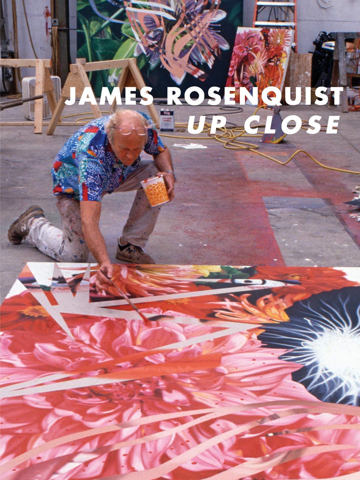 James Rosenquist Up Close on Amazon Prime Instant Video UK
