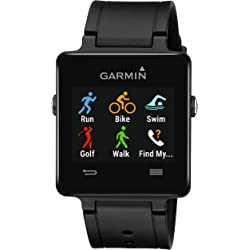Garmin Vivoactive Touchscreen GPS Smartwatch (Black) - Manufacturer Refurbished