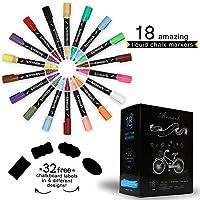 18-Pack Airmark Liquid Chalk Marker Pens