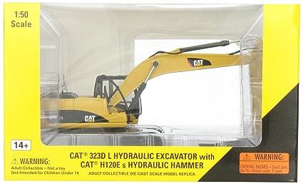 CAT 323D Pelle hydraulique avec le marteau