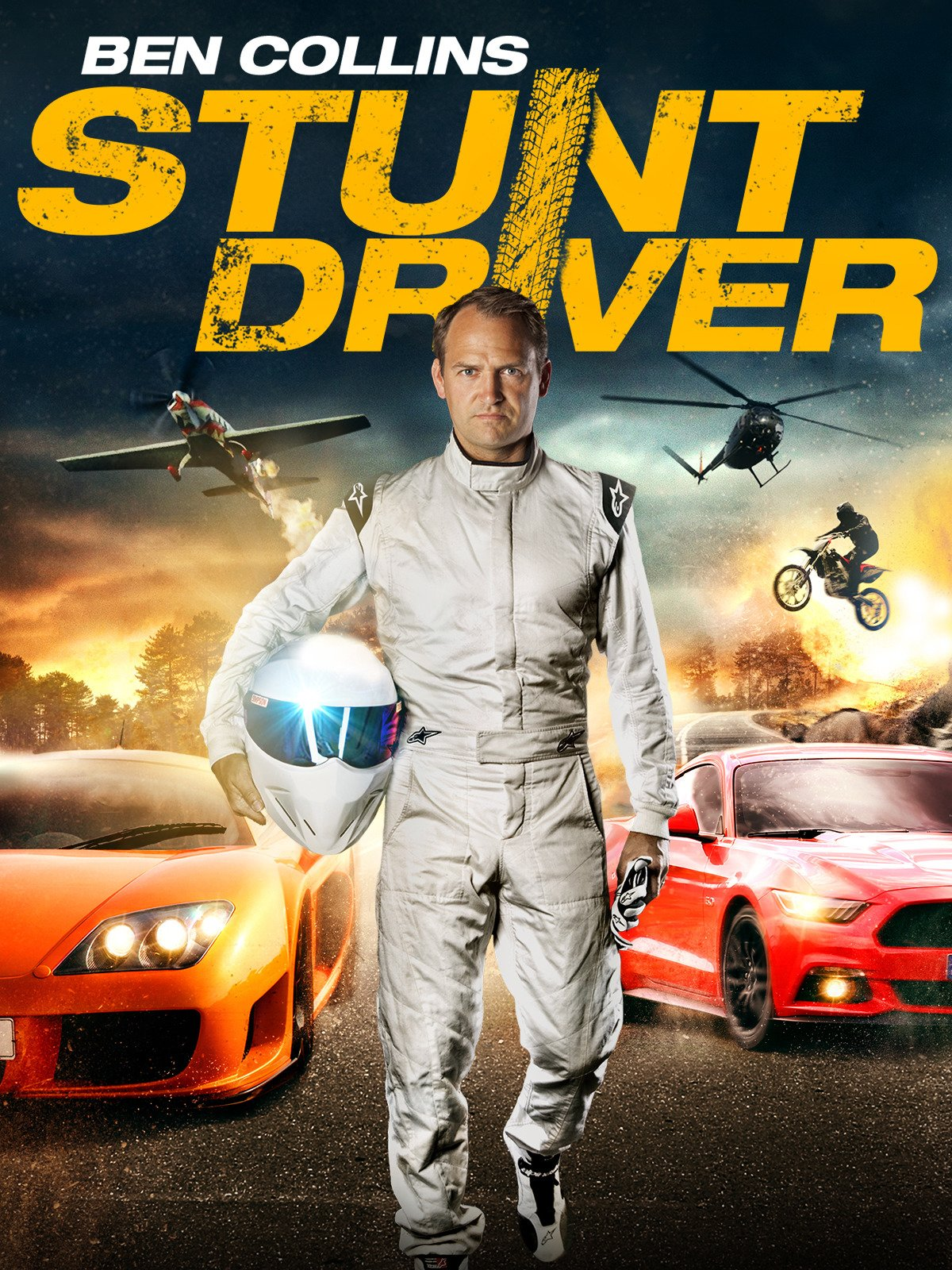 Ben Collins - Stunt Driver on Amazon Prime Video UK