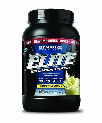 Dymatize Elite Whey Protein Banana, 1er Pack (1 x 930 g)