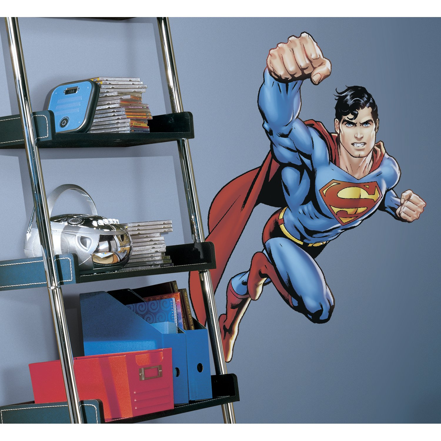 Superman: Day Of Doom Peel & Stick Giant Wall Decal