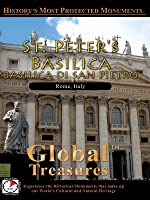 Global Treasures BASILICA OF ST PETER Basiclica Di San Pietro Rome, Italy