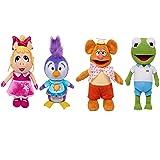 MUPPET Exclusive! Set of 4: Plush Disney Junior Babies: Fozzie, Piggy, Kermit and Penguin APPR. 8