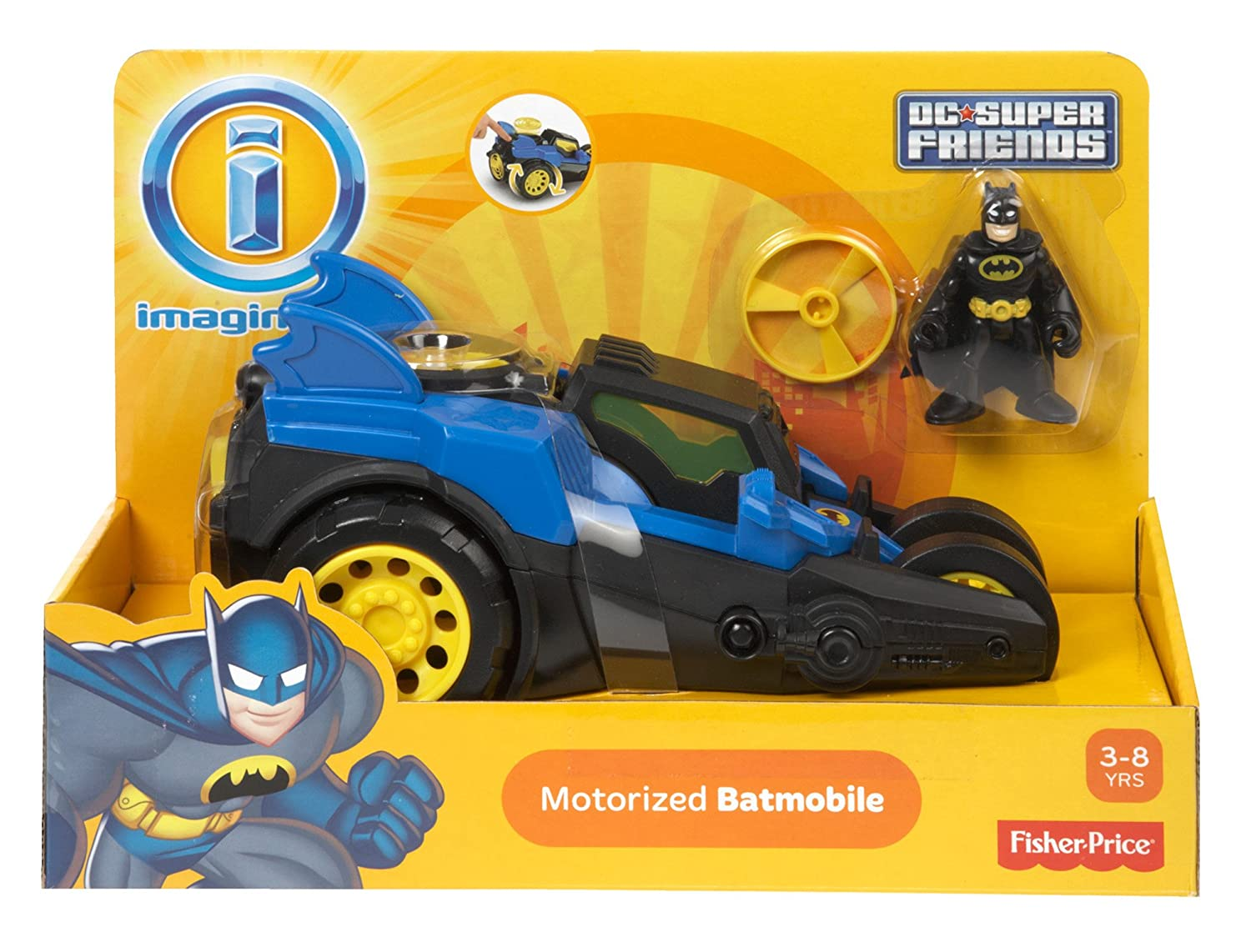 Batmobile Toy Imaginext Motorized Batmobile Toys