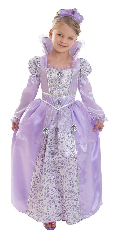 Corolle™ lila Königin-Kostüm für Mädchen – 5 bis 7 Jahre kaufen