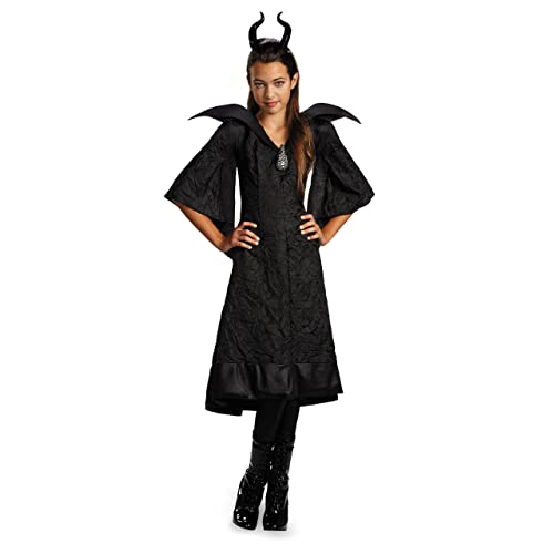 Disguise Disney Maleficent Movie Christening Black Gown Girls Classic Costume Medium/7-8