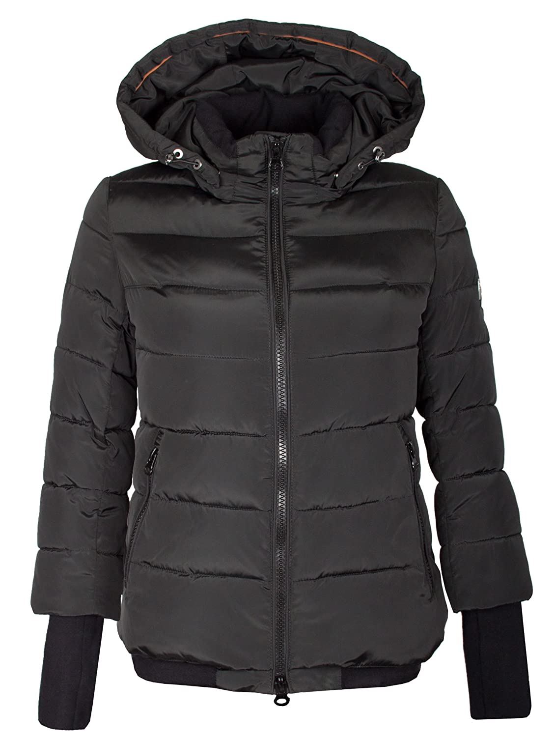 Q136 Damen Winterjacke Daunen - Optik
