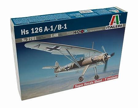 Italeri - I2701 - Maquette - Aviation - Henschel HS126A-1/B-1 - Echelle 1:48