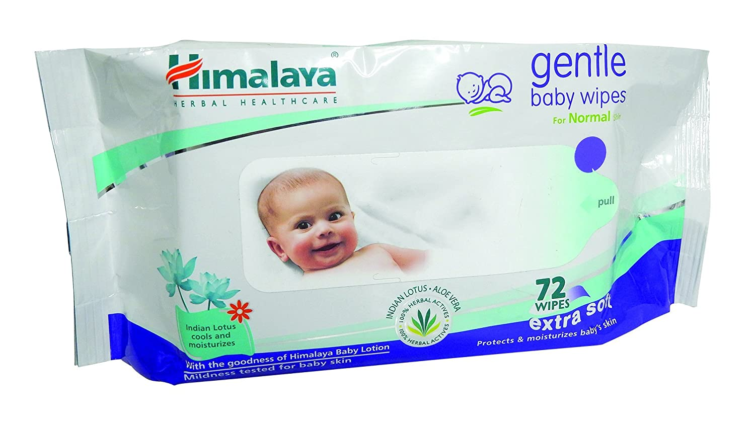 Himalaya Herbals Gentle Baby Wipes (72 Sheets) By Amazon @ Rs.100