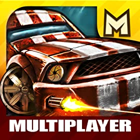 Road Warrior Free: top 'car racing meets guns' game - by Mobjoy Best Free Games