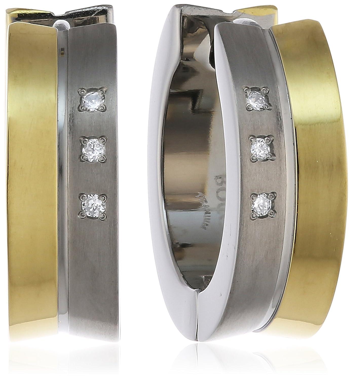 Boccia Damen-Creolen Titan Diamant weiß 0511-04 schenken