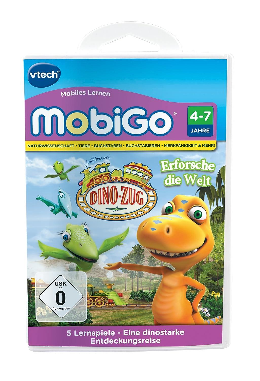 VTech 80-252304 – MobiGo Lernspiel Dino Zug günstig bestellen