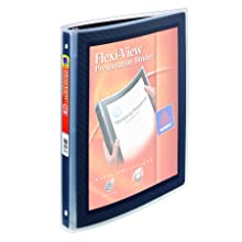 Avery Flexi-View 0.5 Inch Binder, Black, 1 Binder (15767)
