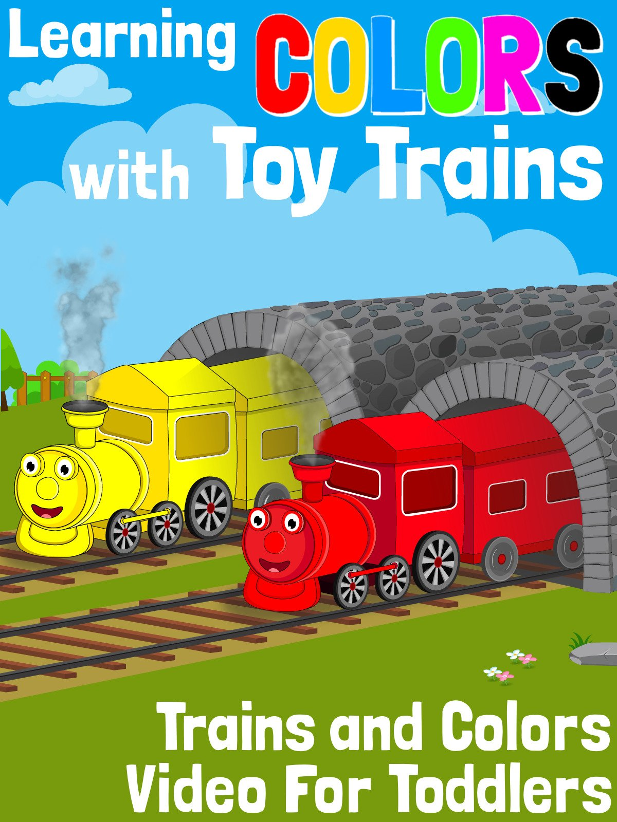 Learning Colors With Toy Trains