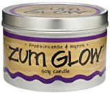 Zum Glow Soy Candle Frankincense and Myrrh -- 7 oz Tin