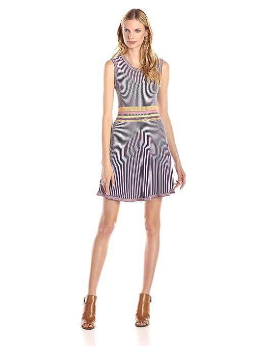 summer dresses - BCBGMax Azria Women's Wilma Jacquard A-Line Dress