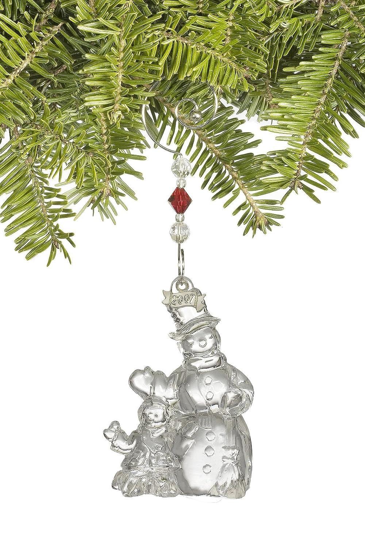 Waterford Crystal Christmas Wonders Jolly Snowman Ornament