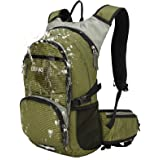 Benkii Insulated Hydration Backpack with 2L Water Bladder - Lightweight pack for Running Hiking Riding Camping Cycling Climbing Fits for Men & Women (Olive)
