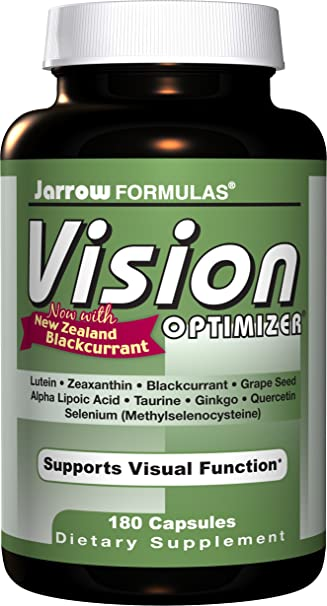 海淘护眼类保健品:Jarrow Formulas Vision Optimizer 护眼保健品