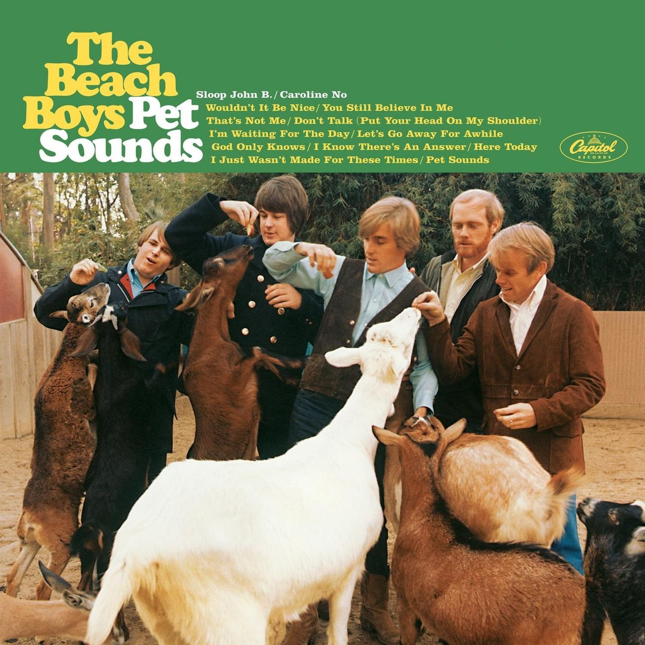 Pet Sounds (Mono & Stereo Remasters) Original recording remastered