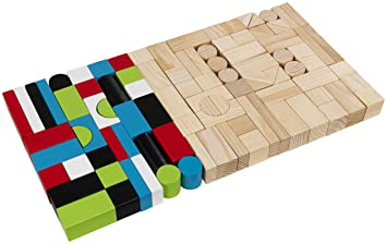 KidKraft -  Ensemble de blocs en bois