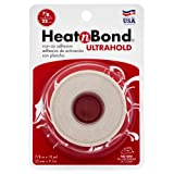 HeatnBond UltraHold Iron-On Adhesive, 7/8 Inch x 10 Yards