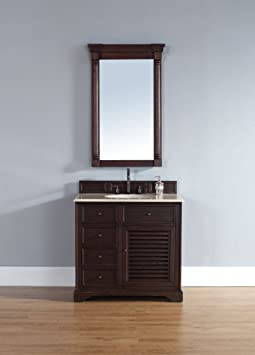 "James Martin Savannah 36"" Single Vanity in Sable"