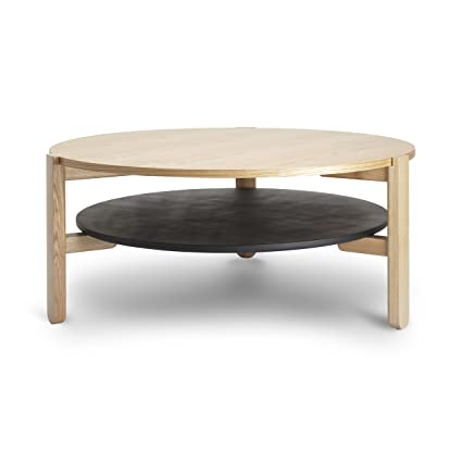 The Original HUB COFFEE TABLE Black/Natural by Umbra® -