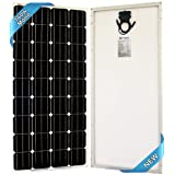 SEC 160 120 320 Watt Monocrystalline 160W 12V Solar Panel High Efficiency Mono Module RV Marine Boat Off Grid (160 WATT Mono) (160WATT MONO)   (Color: 160W-MONO, Tamaño: 160W)