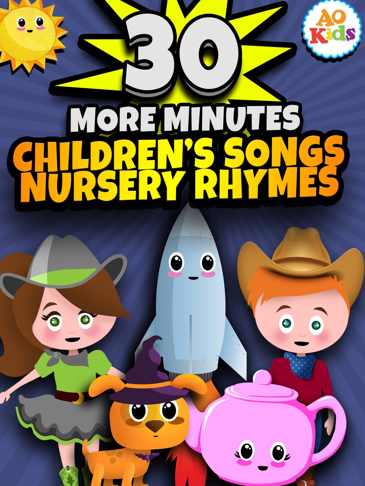 30 More Minutes of Children's Songs and Nursery Rhymes