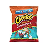Cheetos Flamin' Hot Chipotle Ranch Crunchy Cheese Flavored Snacks 8.5oz, one bag