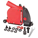 Dastool Angle grinder dust collection attachment for Double-Cut Saw,Wall Chaser dust shroud 5 inch AG03 (Color: #7, Tamaño: 5 inch wall chaser dust shroud)