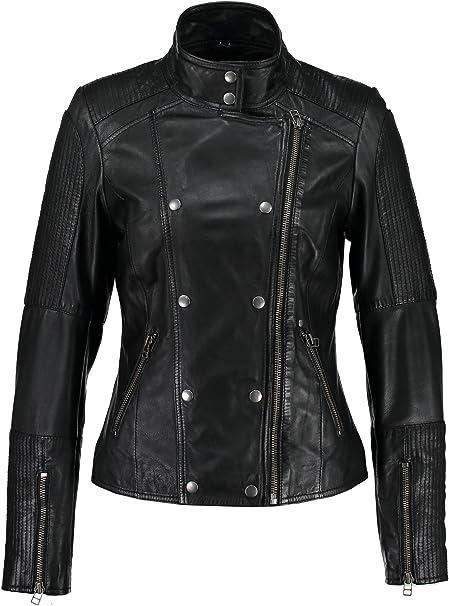 Garcia Damen Jacke aus Echtleder S60103
